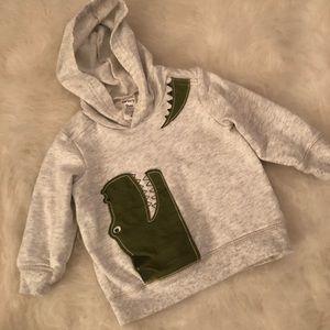 Carters hooded sweatshirt